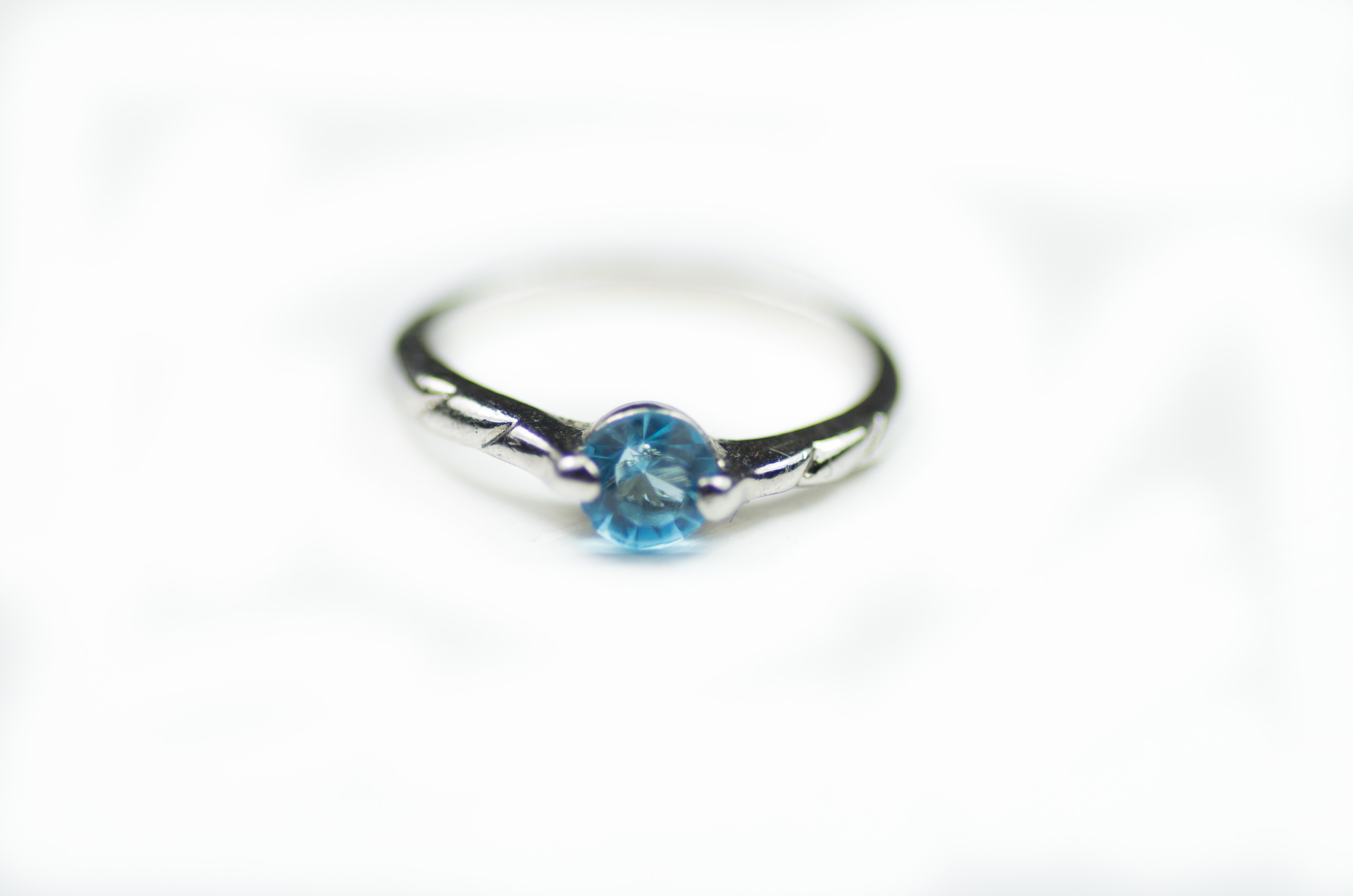 anello solitario pietra turchese 2