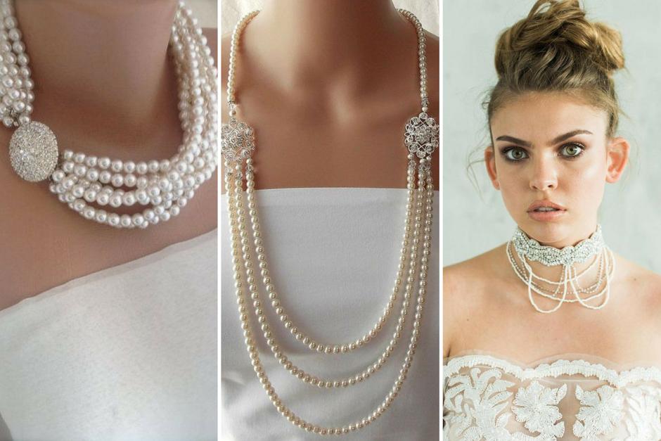 collana perle sposa