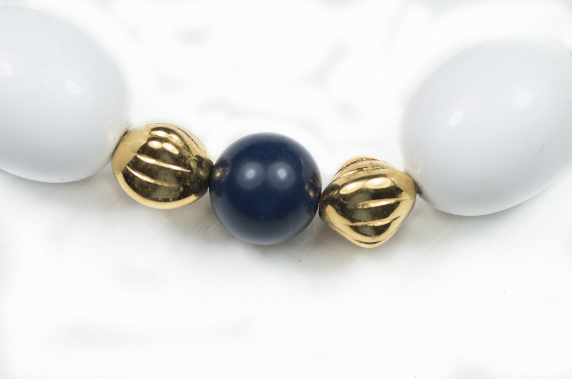 girocollo firmato monet perle bianche 2