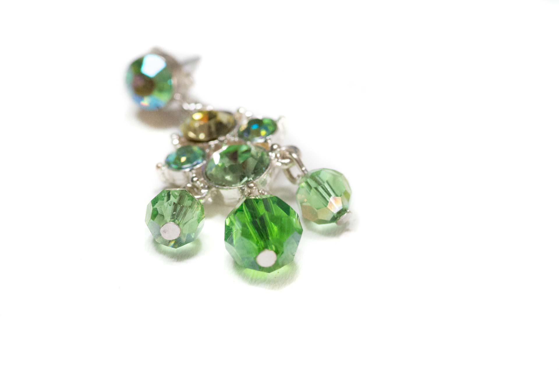 orecchini pendenti verdi 3
