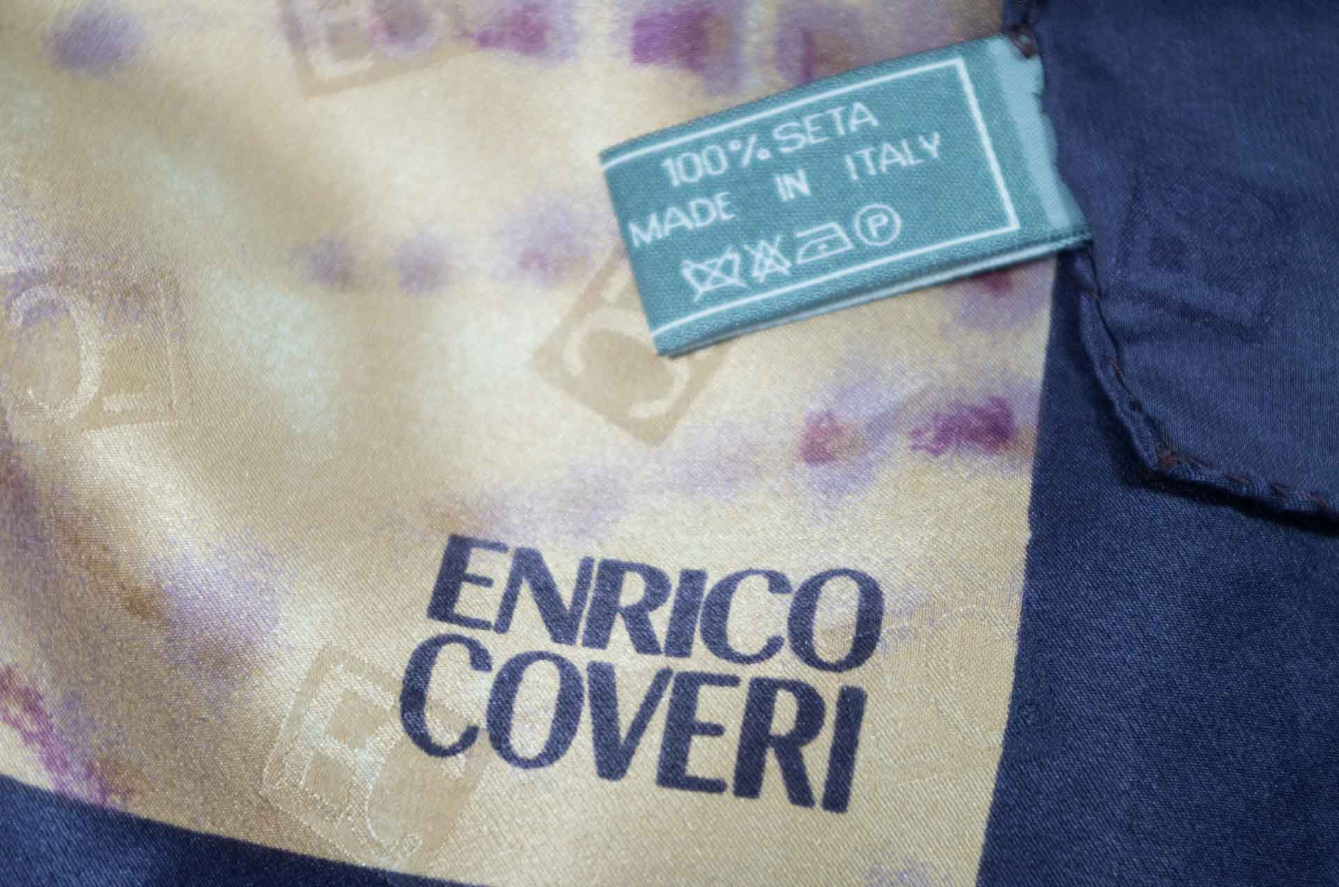 foulard enrico coveri in seta 3