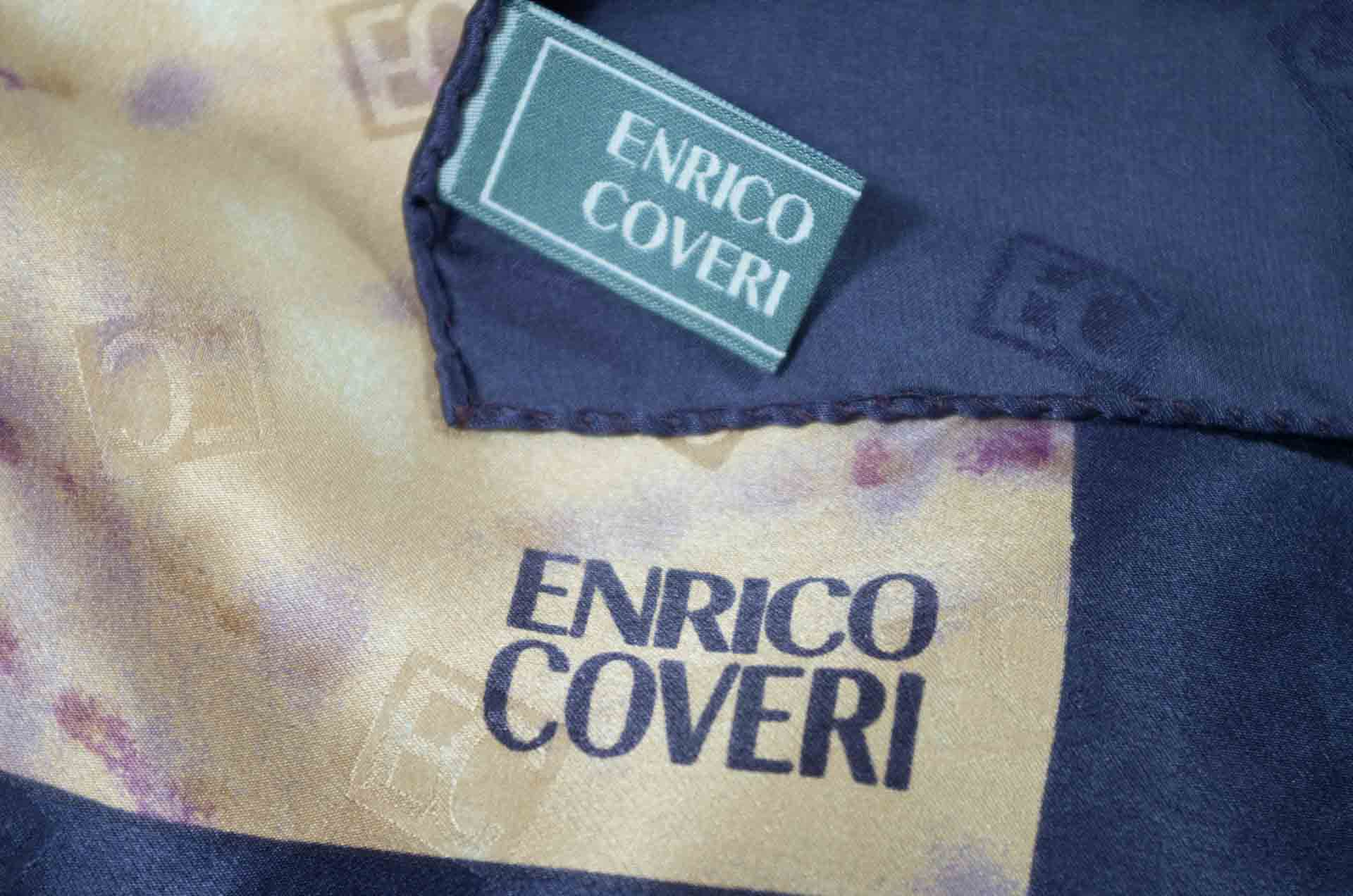 foulard enrico coveri in seta 4
