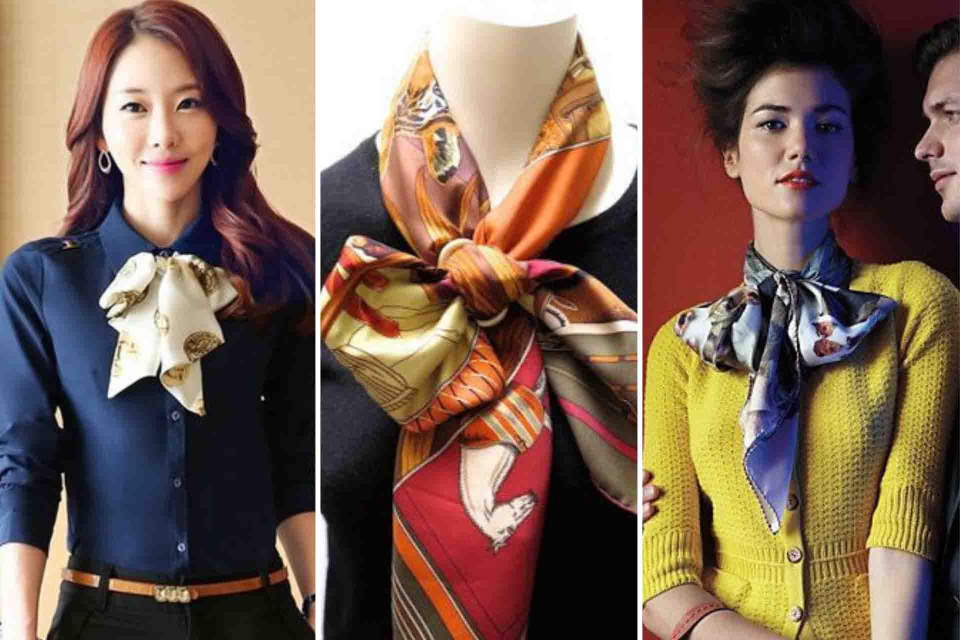 foulard a fiocco