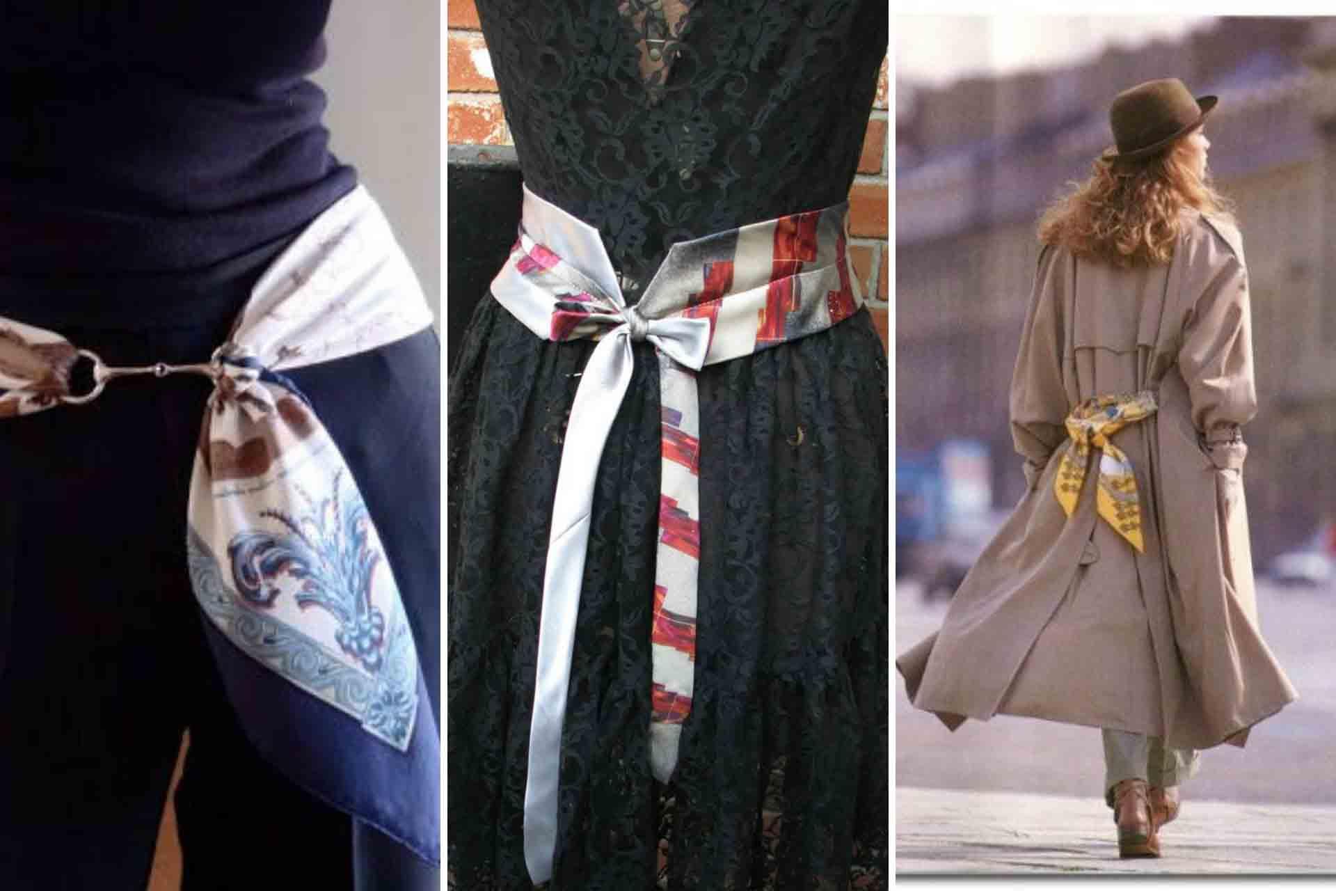 foulard come cinta 1