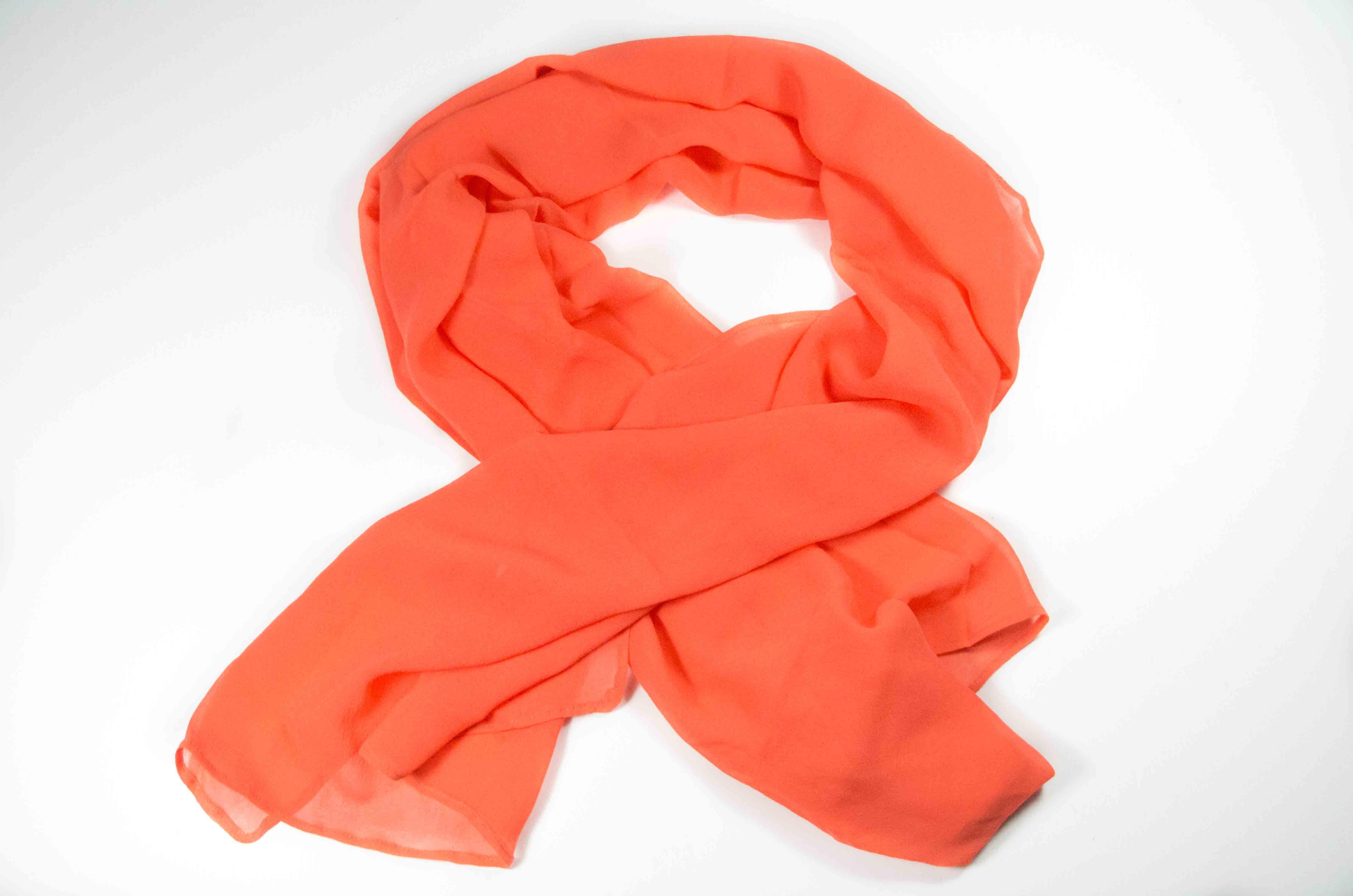 foulard arancione