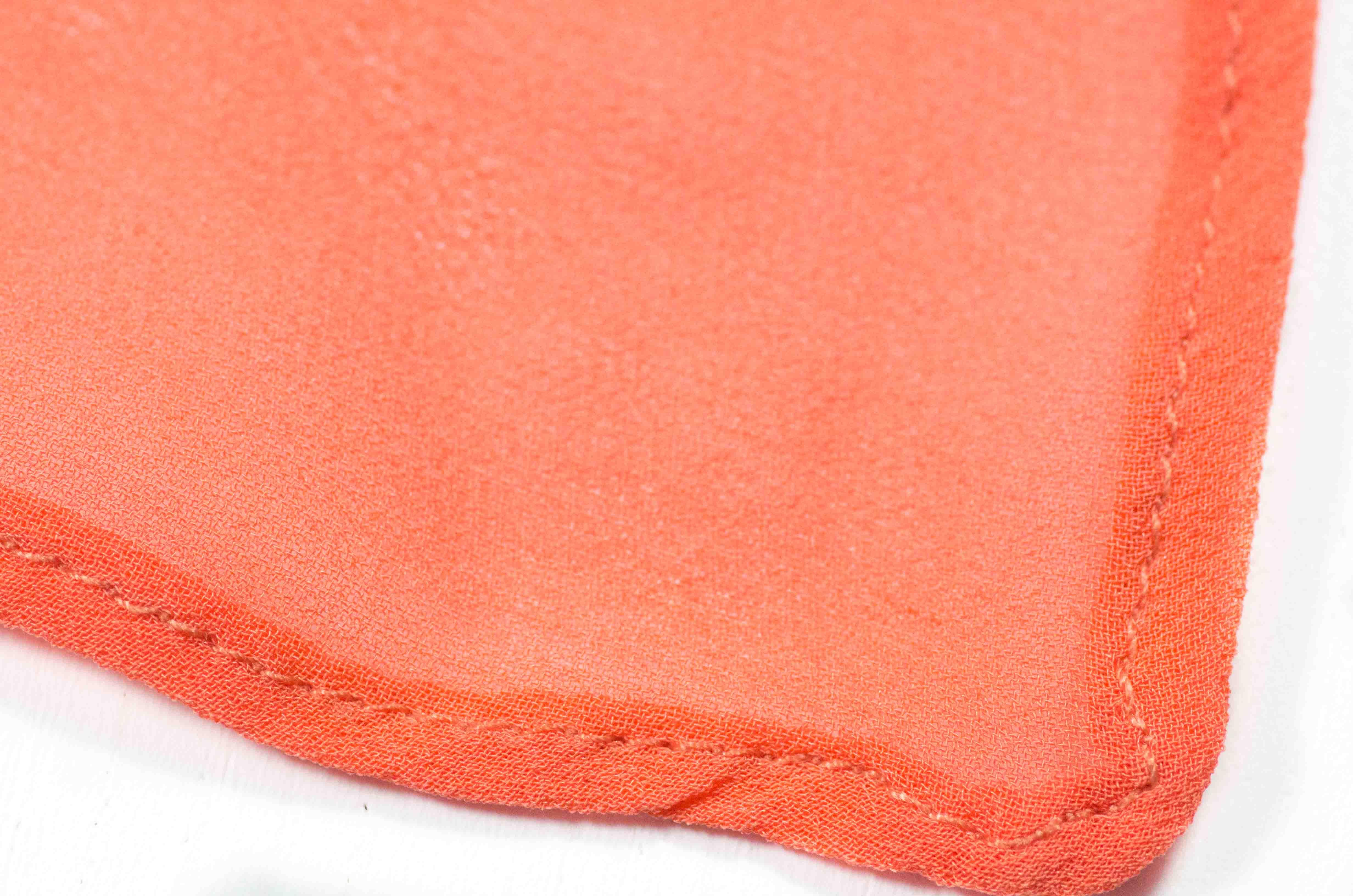 foulard arancione 2