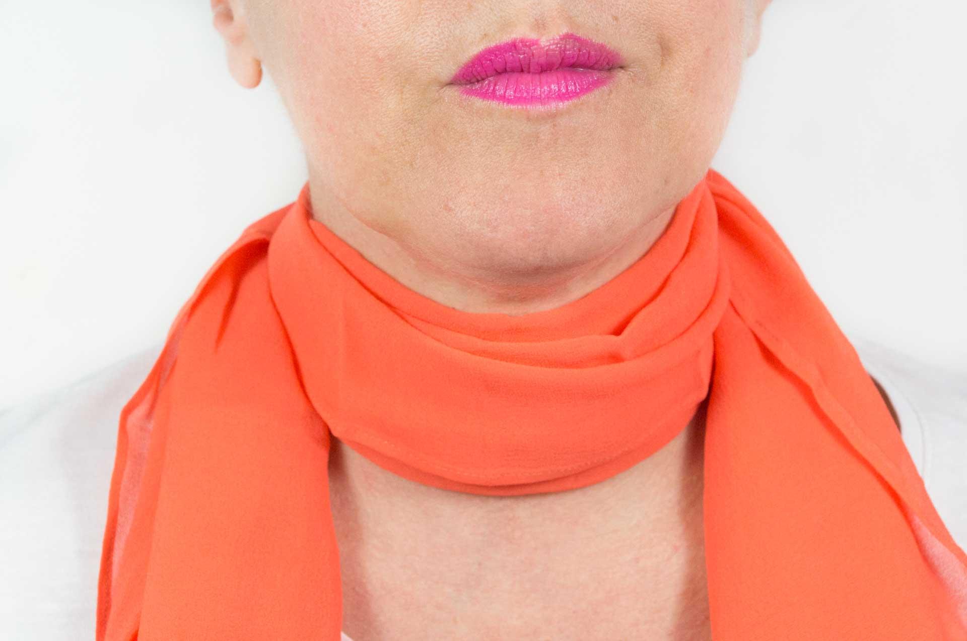 foulard arancione 6
