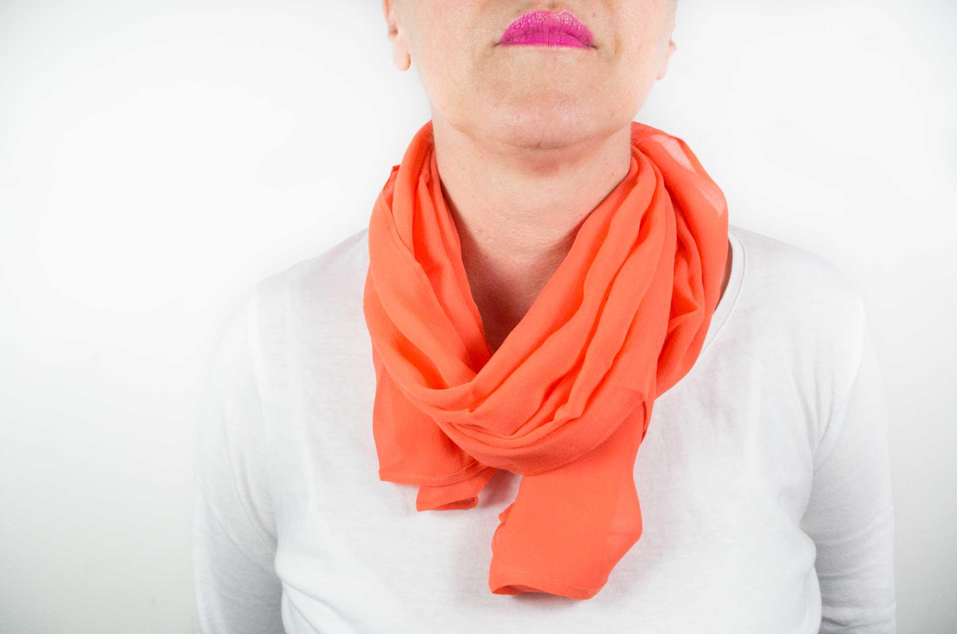 foulard arancione 7