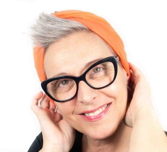 foulard arancione 9