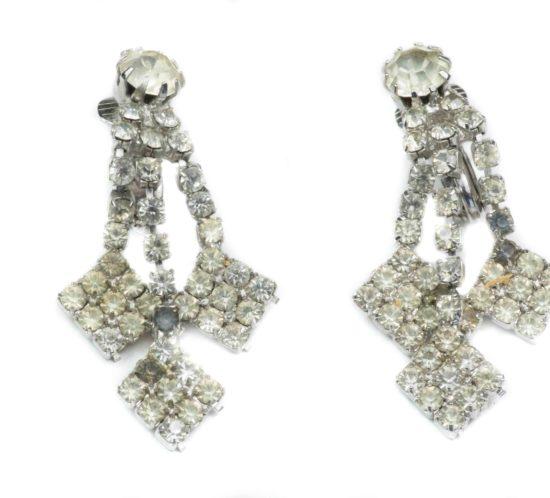 orecchini pendenti di cristalli 1