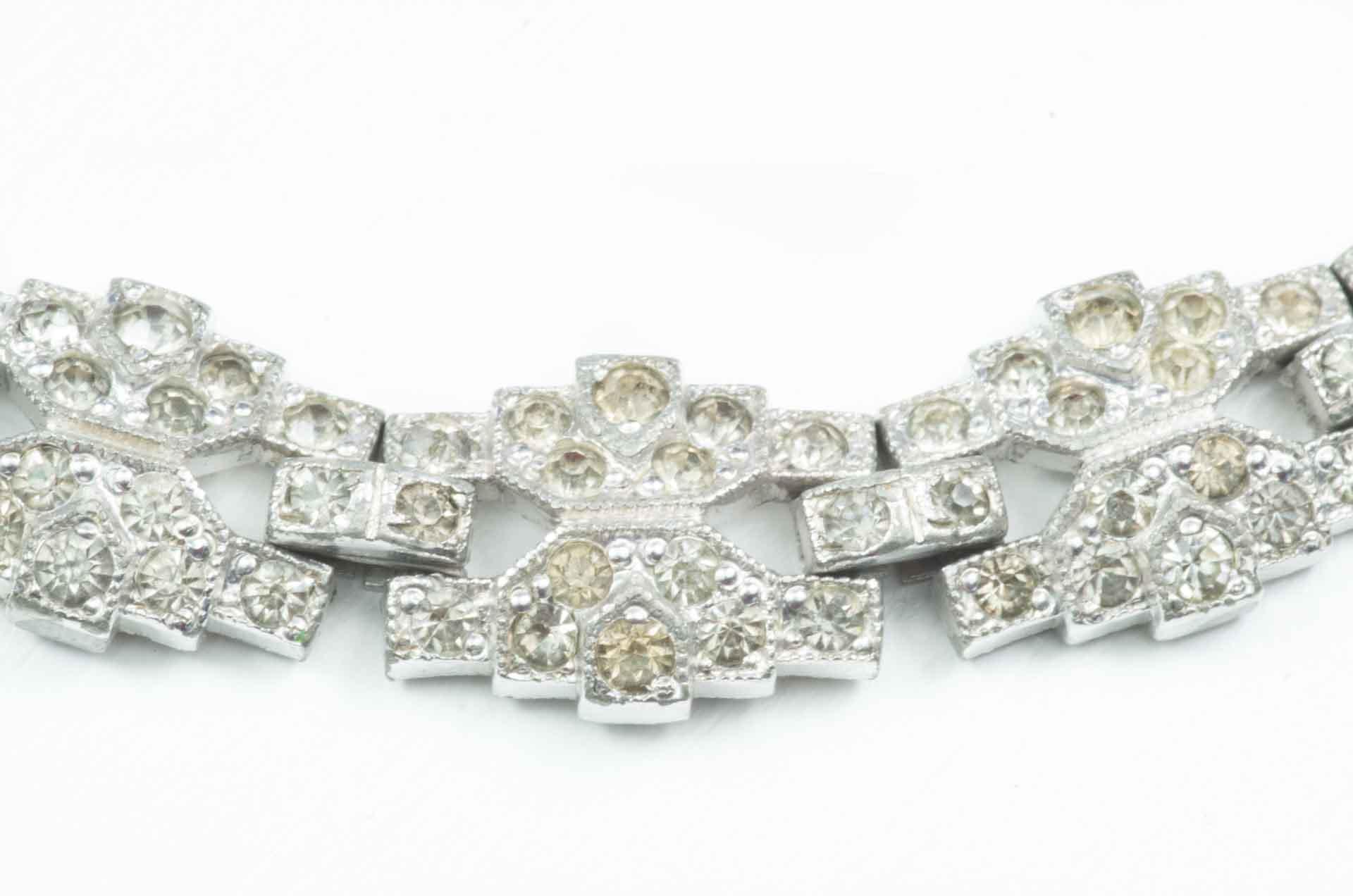 bracciale argento cristalli 3