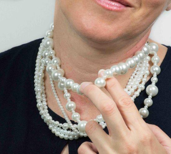 girocollo perle multifilo 7