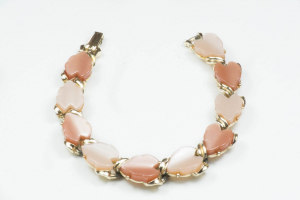 bracciale in lucite marrone
