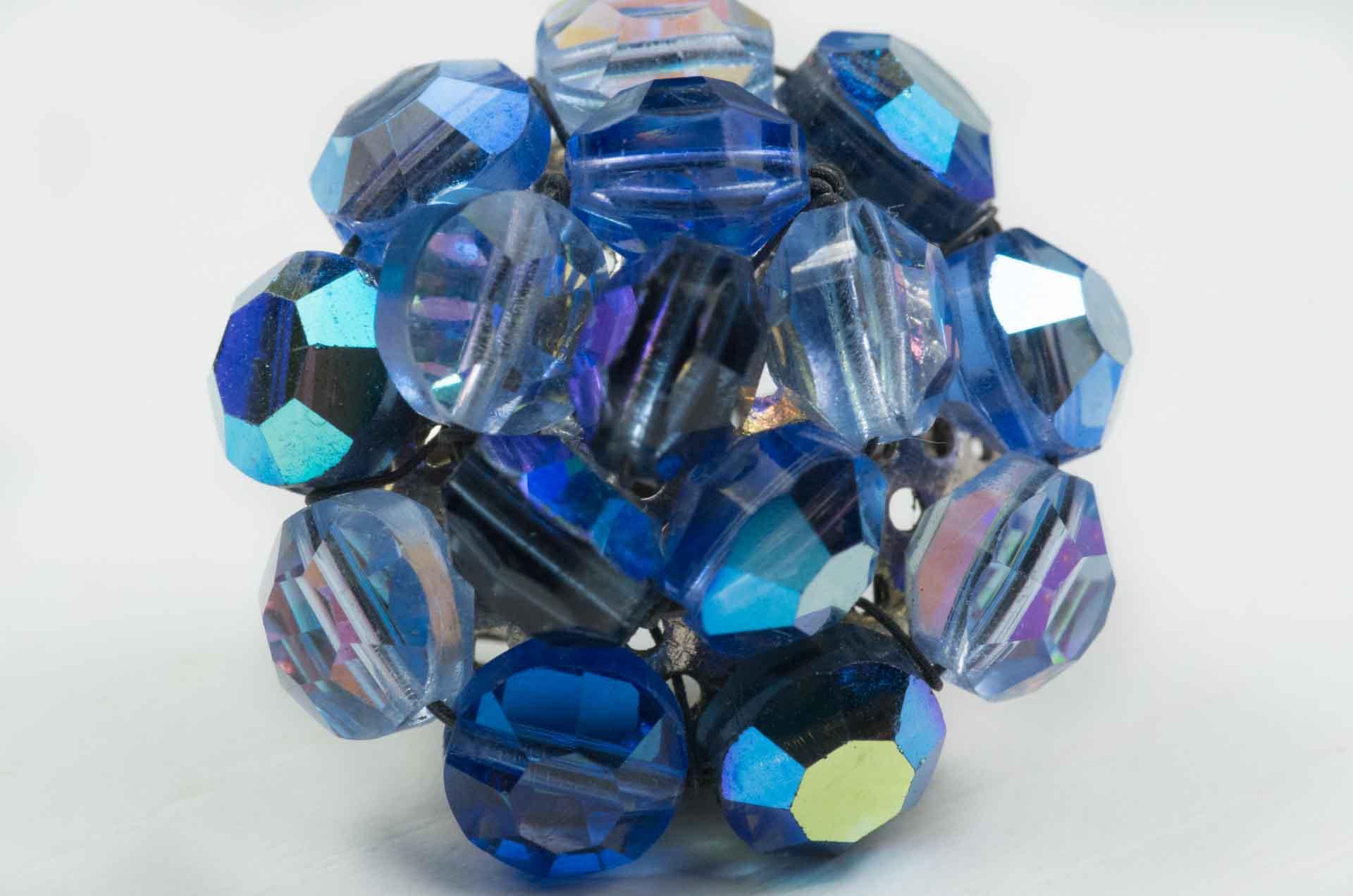 orecchini cristali blu vogue 4