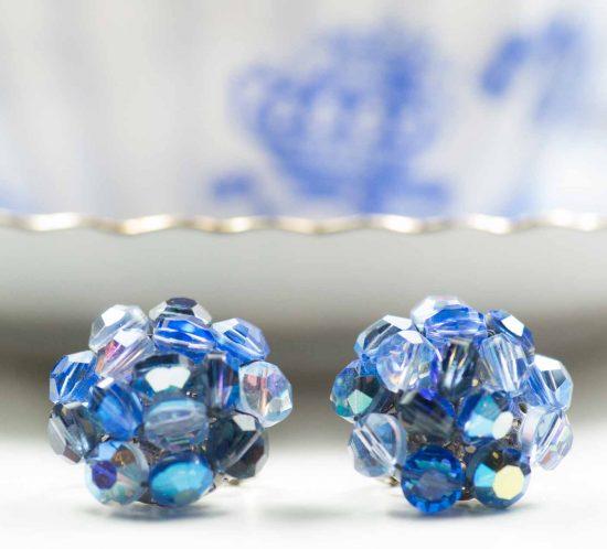 orecchini blu vogue 7