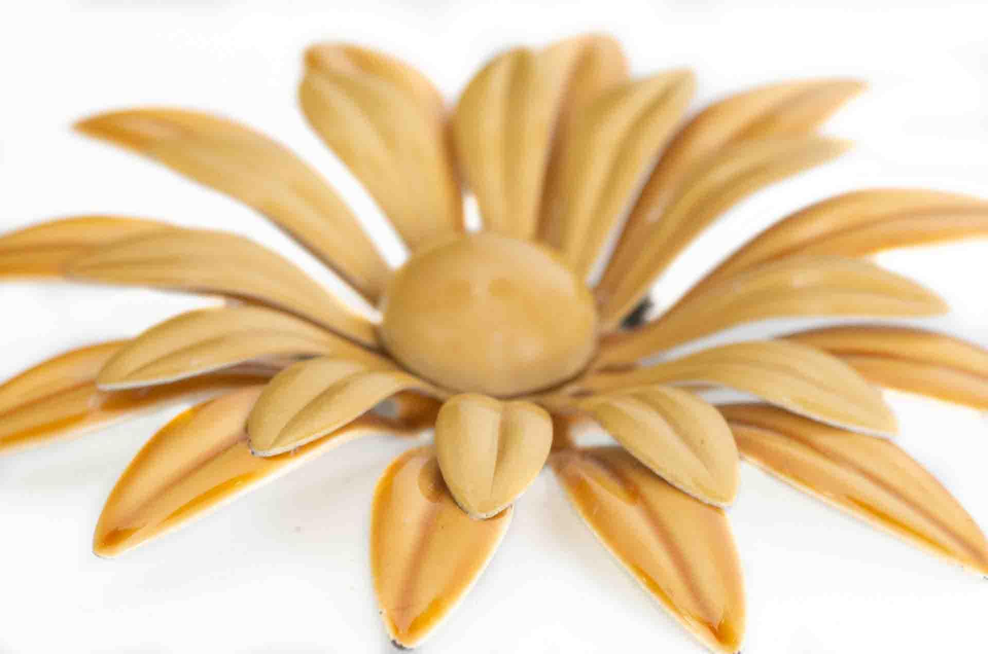 spilla fiore senape 5