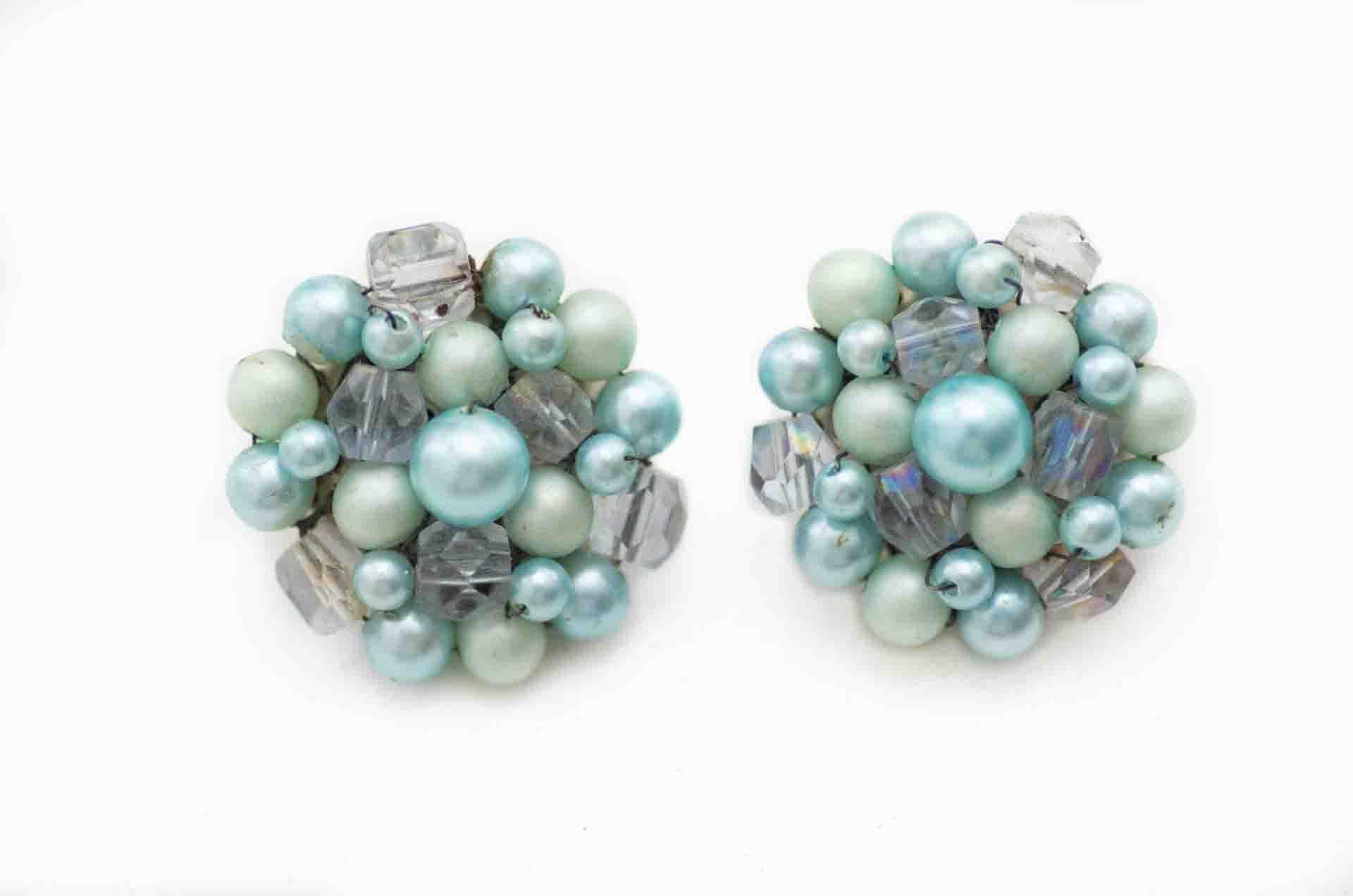 orecchini japan perle azzurre 1