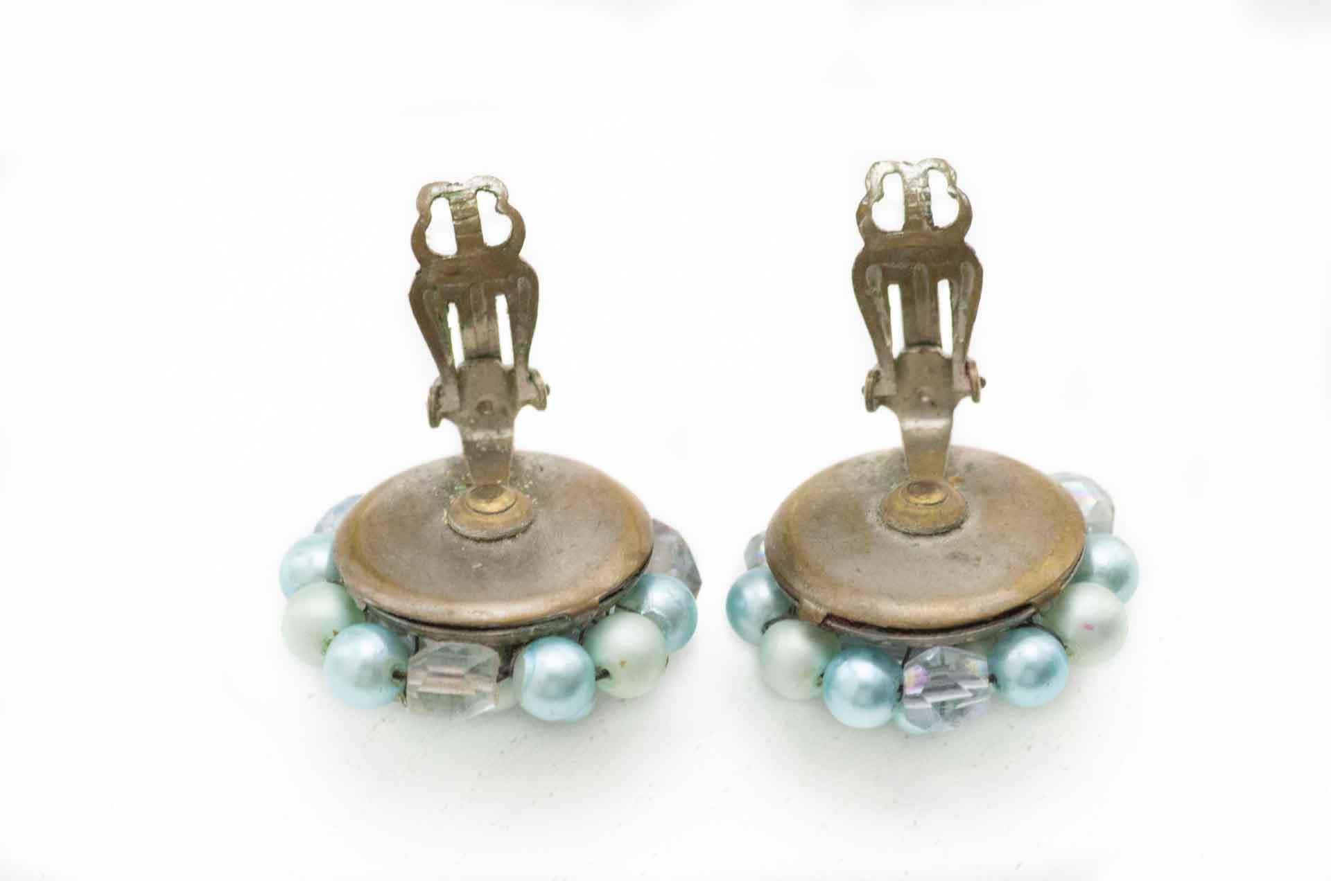 orecchini japan perle azzurre 3
