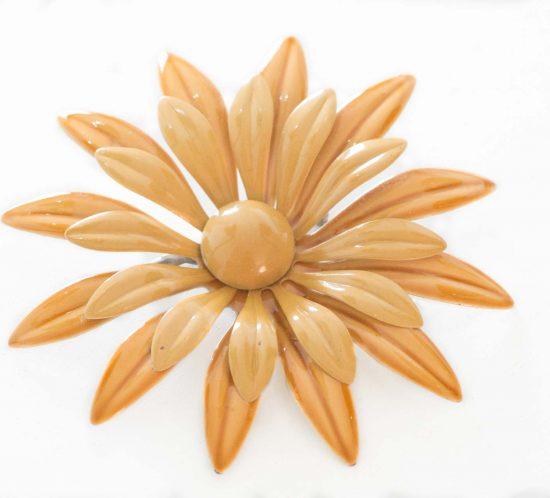 spilla fiore senape 1