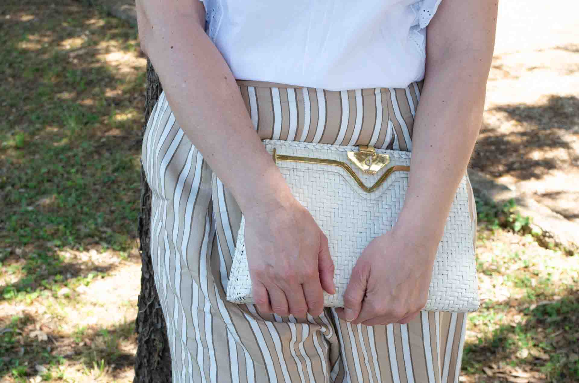 borsa in paglia bianca 13