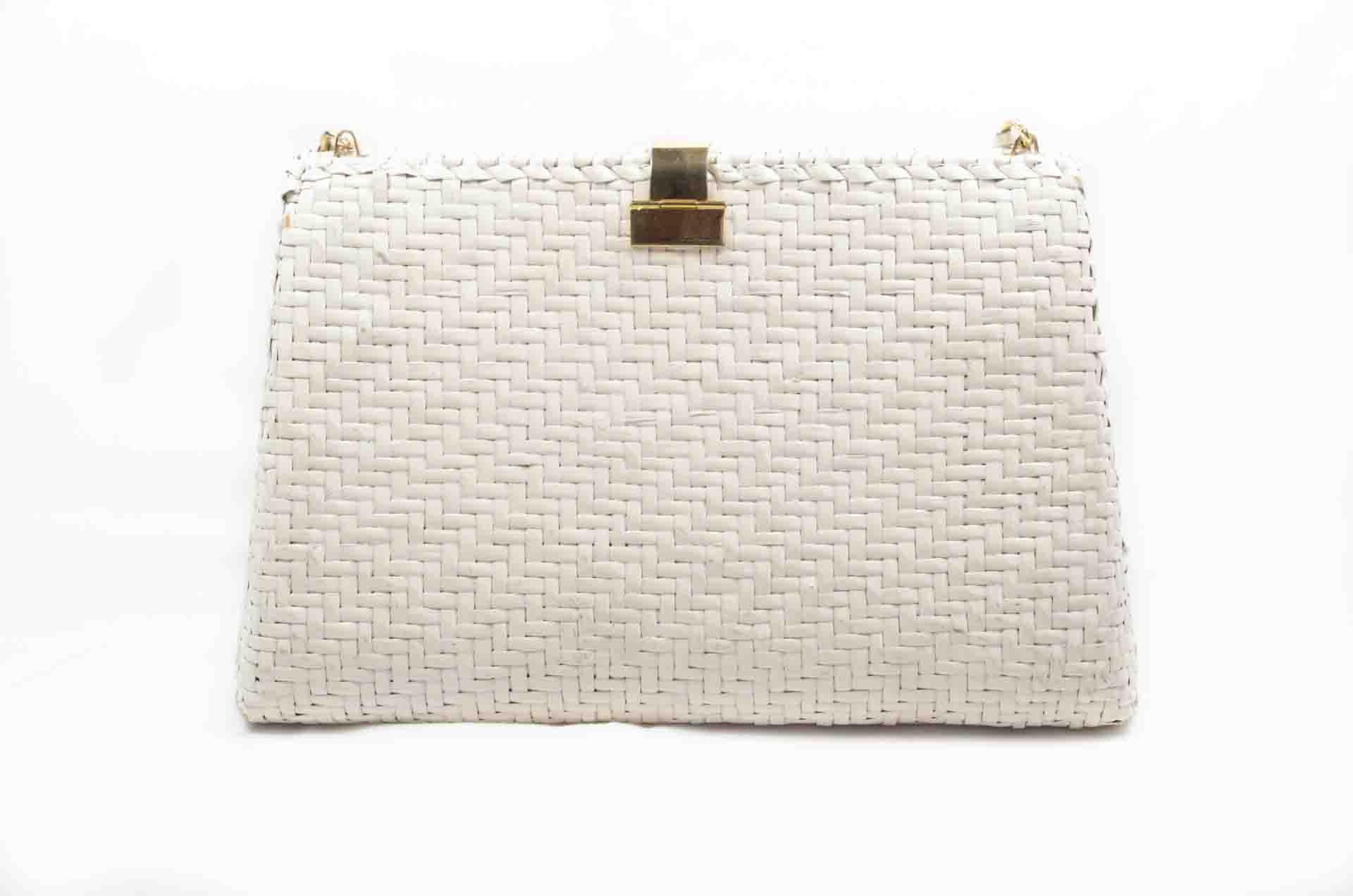 borsa in paglia bianca 2