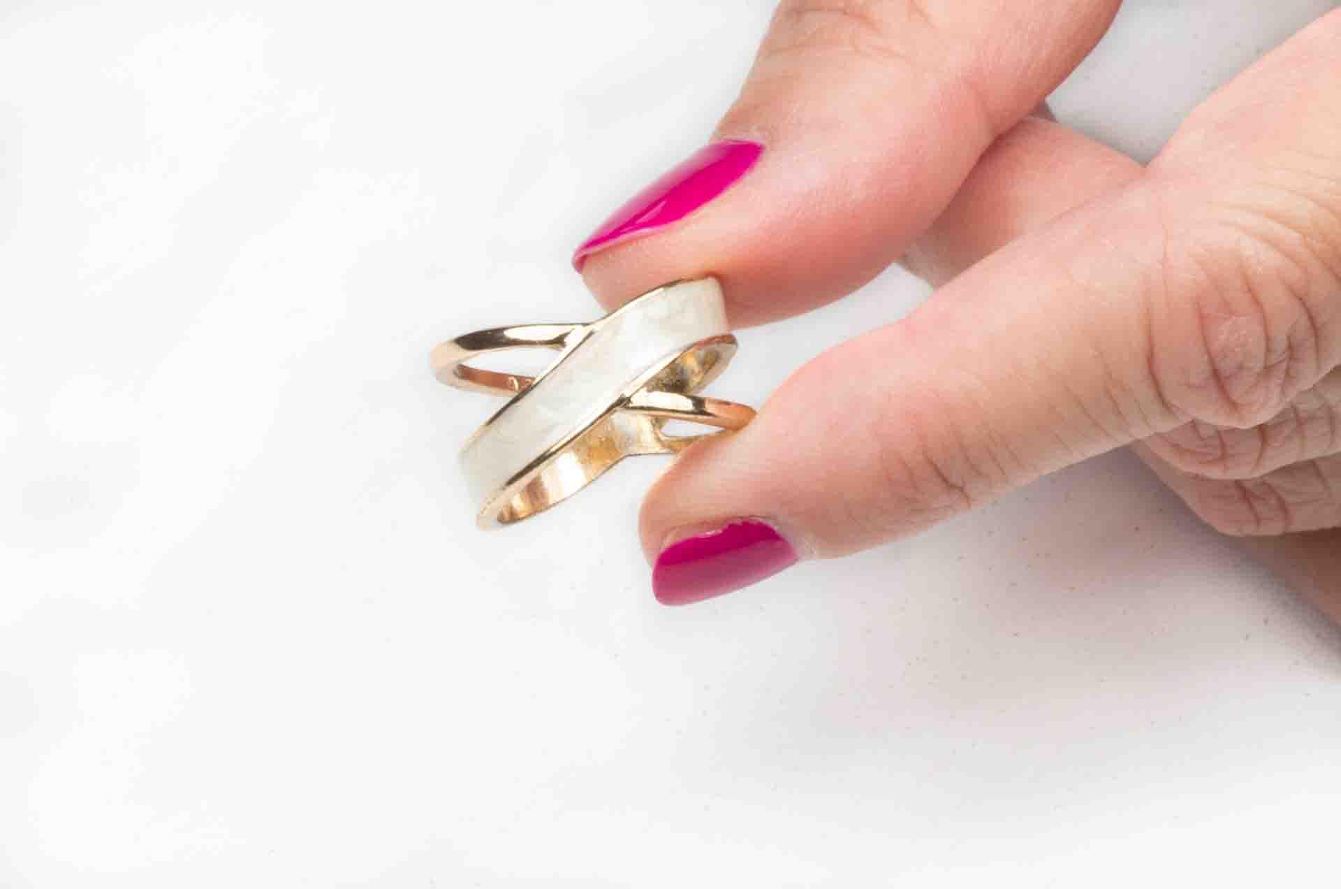anello a doppia fascia 13