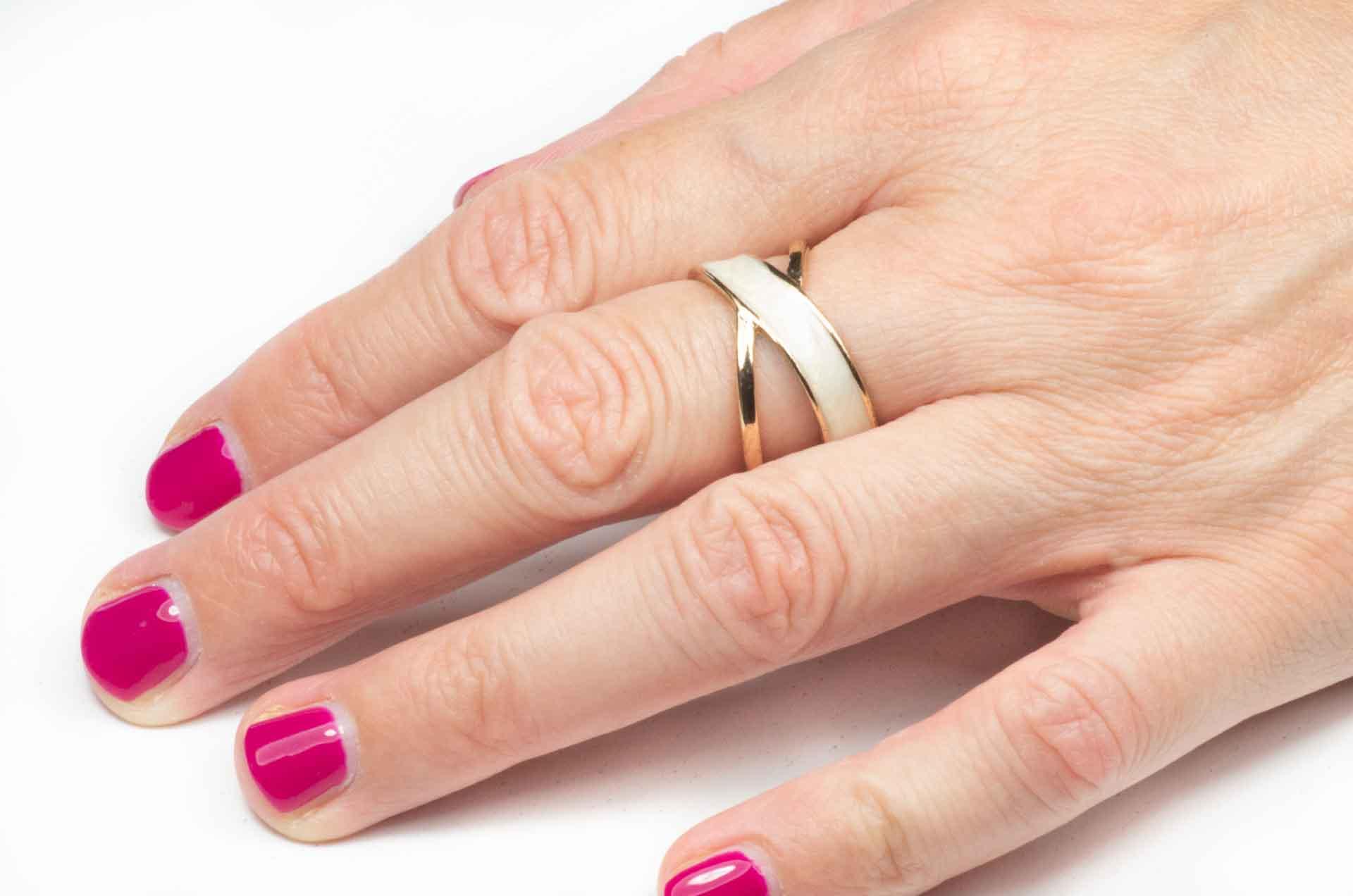 anello a doppia fascia 9