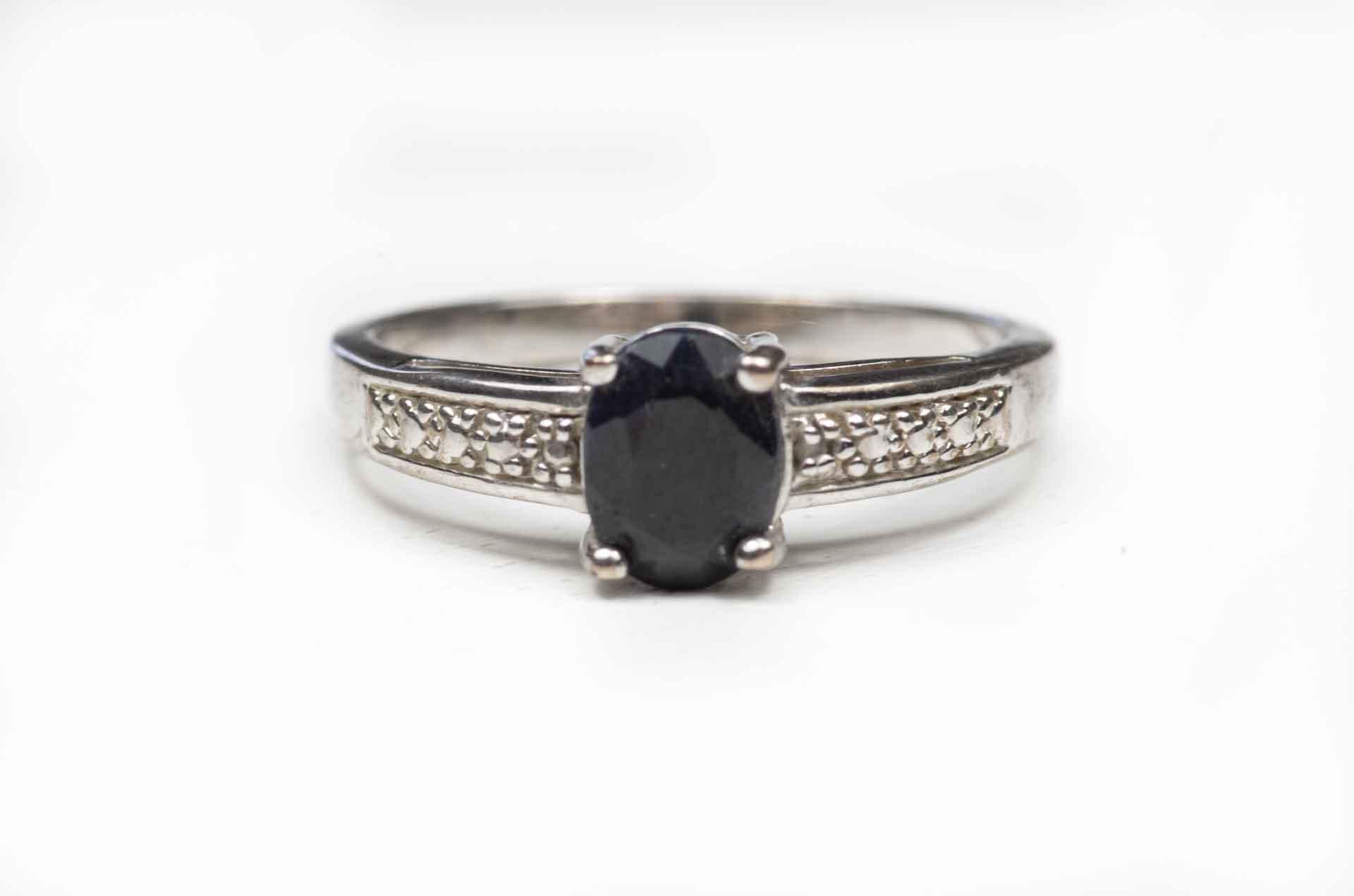 anello con ematite nera 3