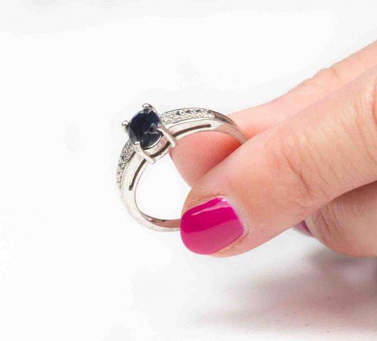 anello con ematite nera 7