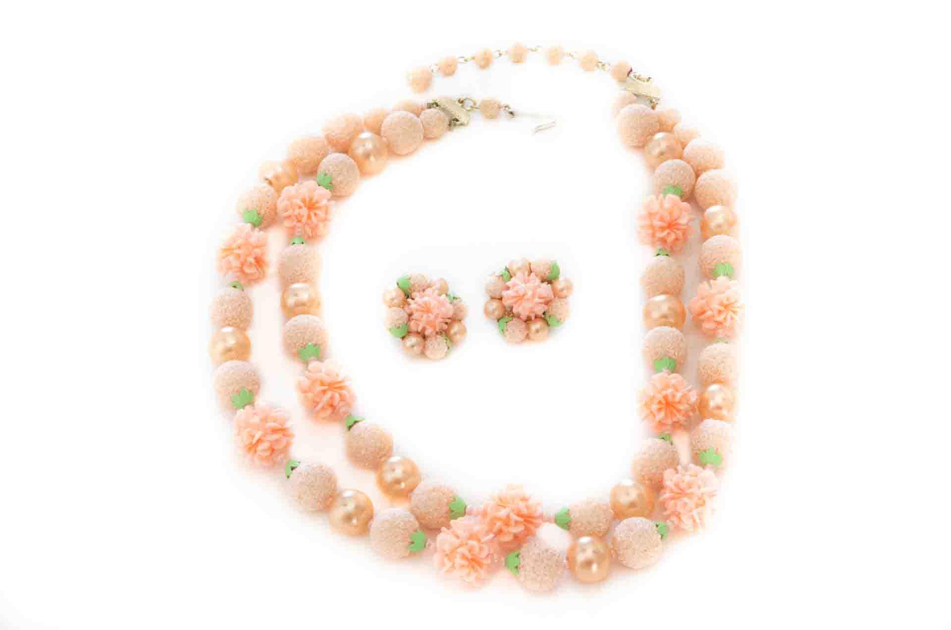 parure japan fiori rosa 1