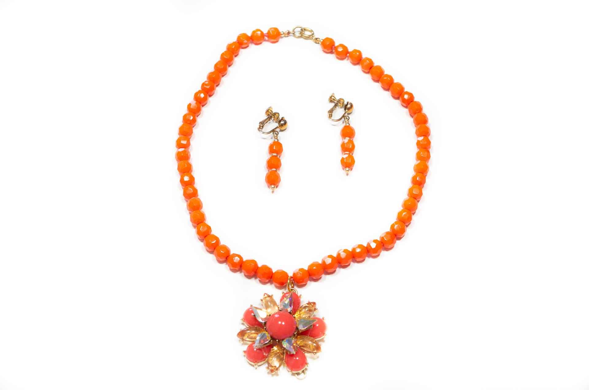 parure arancione 1