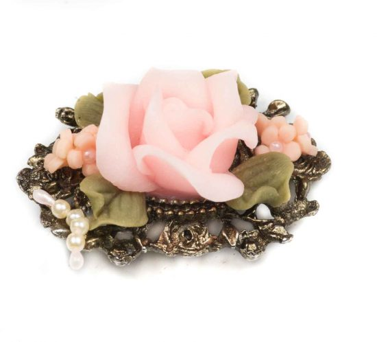 spilla bouquet di fiori 1