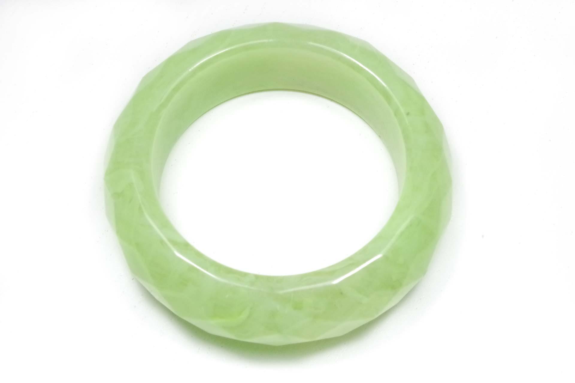 bracciale lucite verde fluo 1
