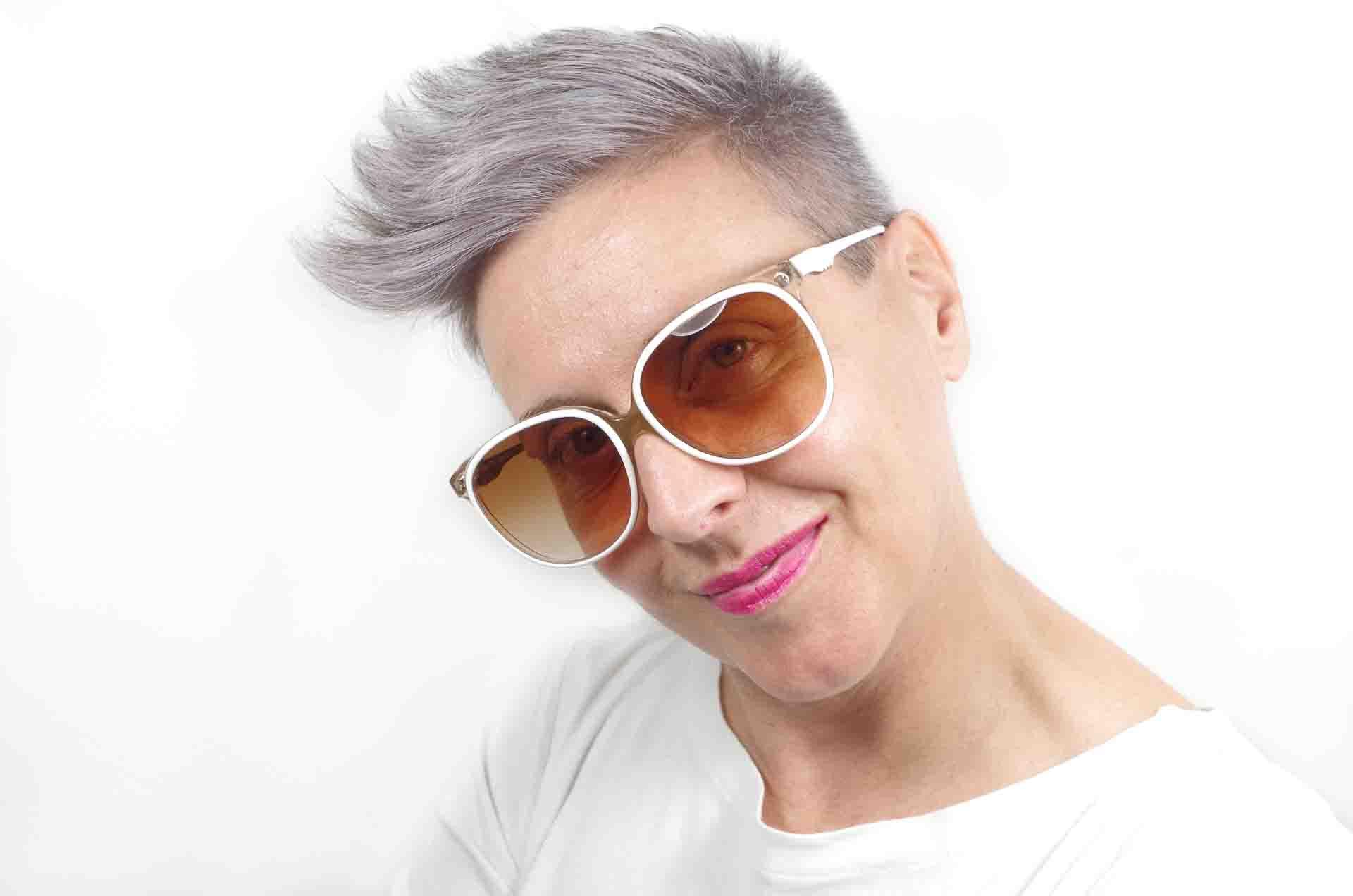 occhiali da sole bianchi 8