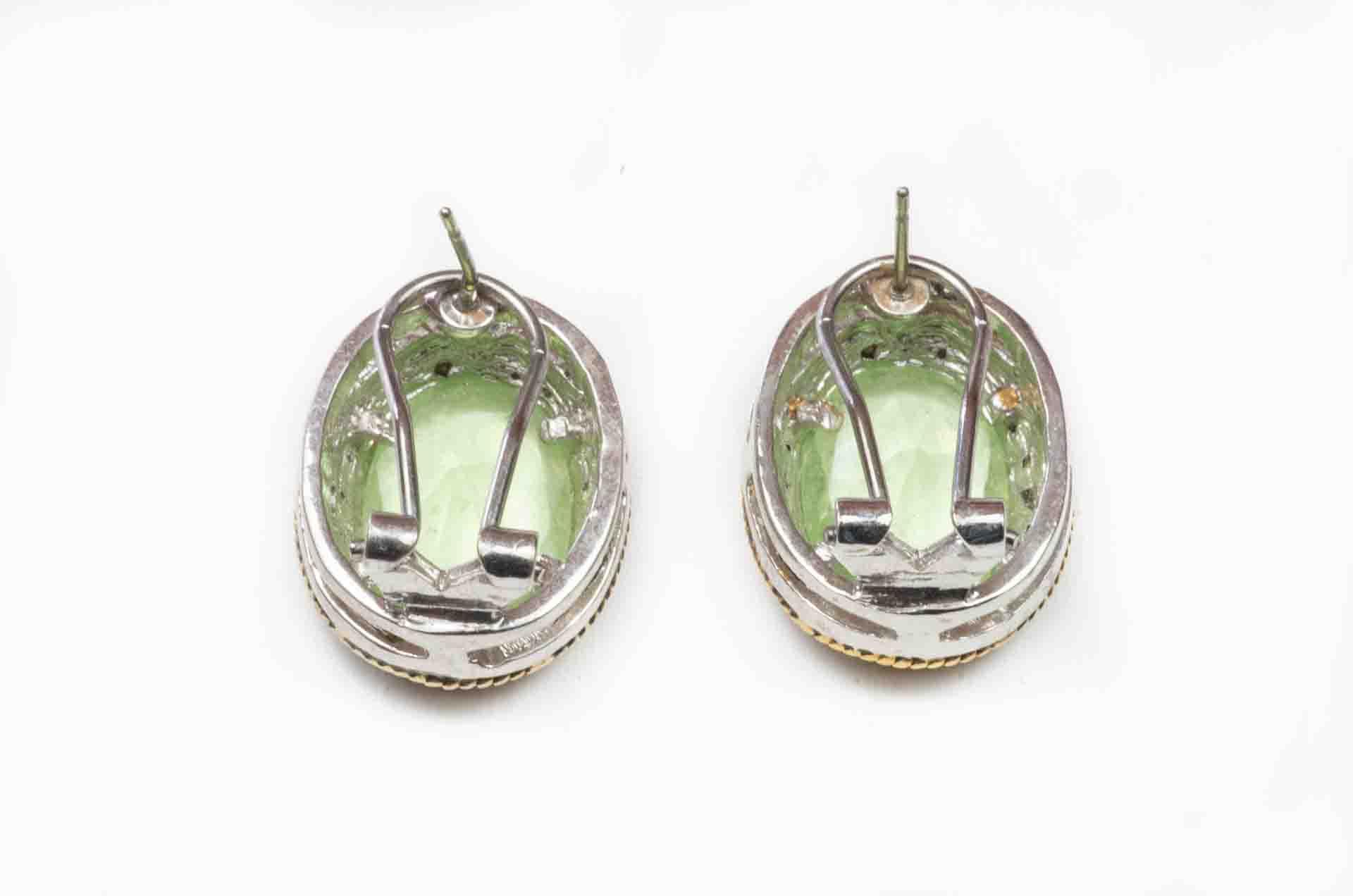 orecchini pietra verde 3