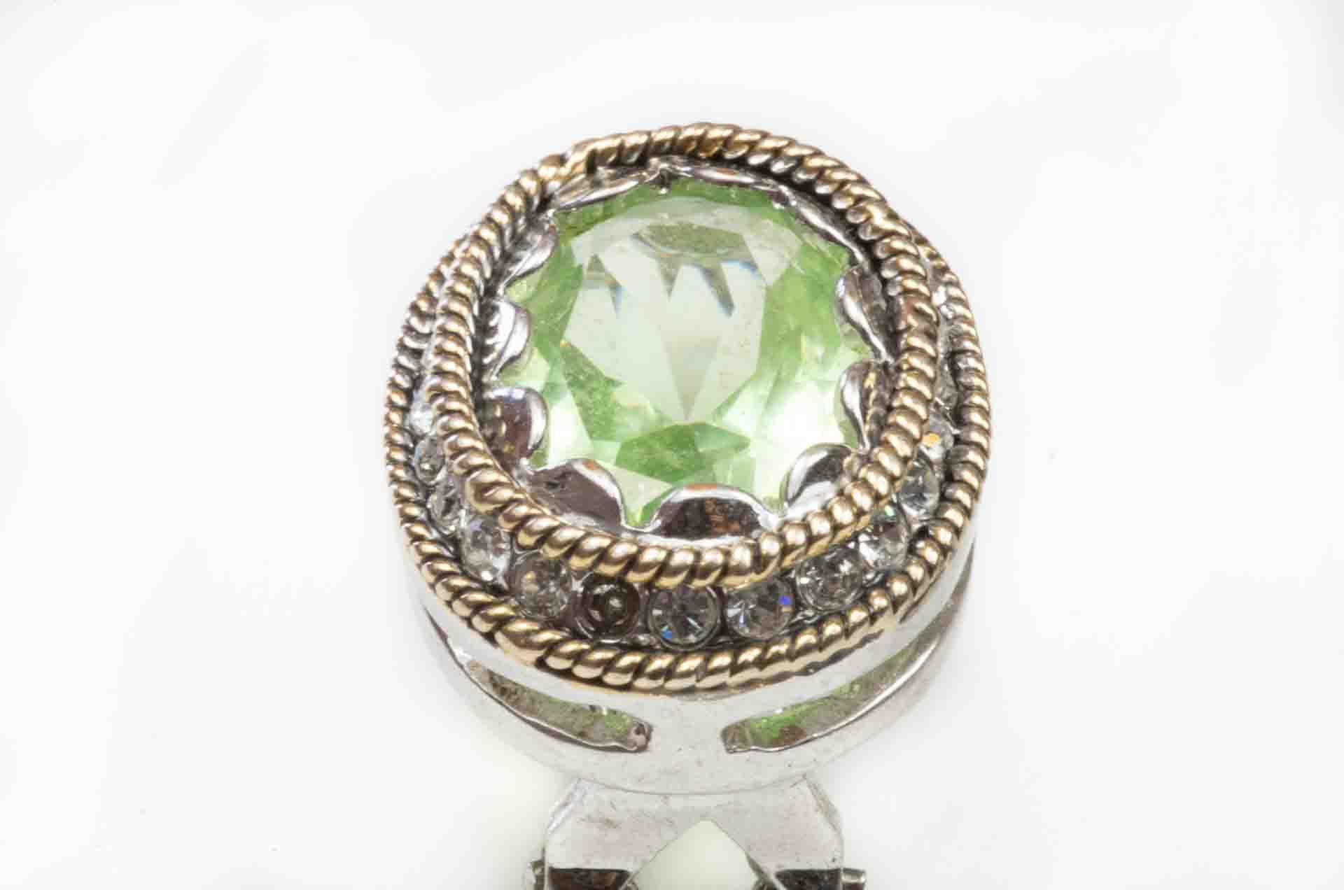 orecchini pietra verde 6