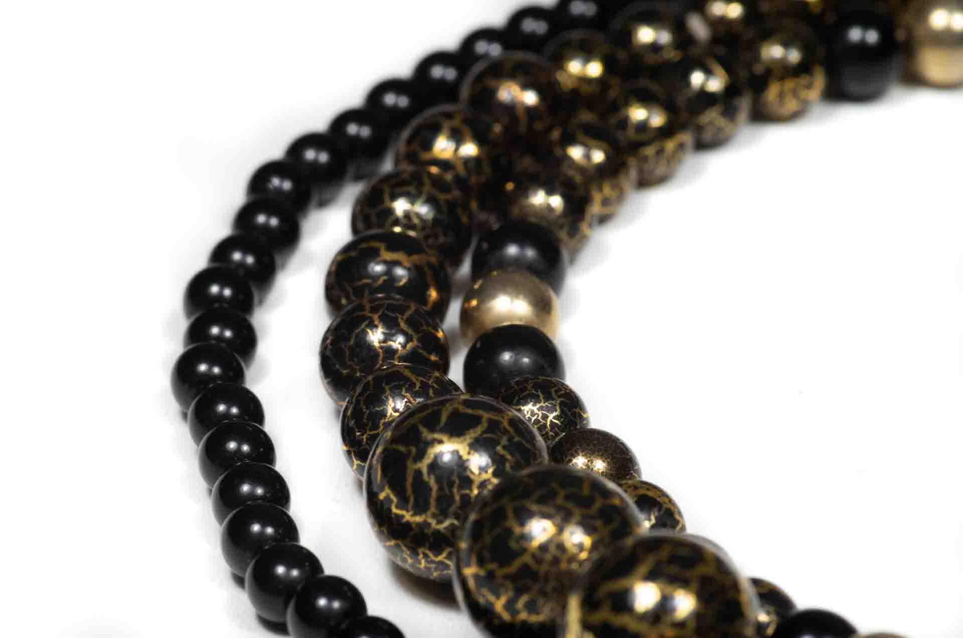 girocollo japan perle nere 4
