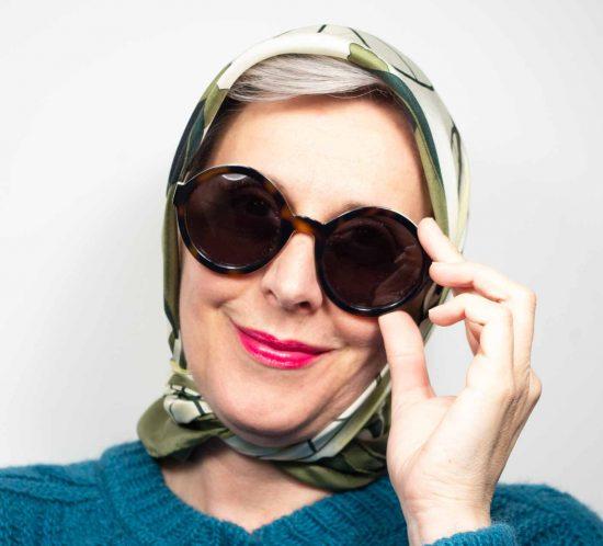 foulard verde 7