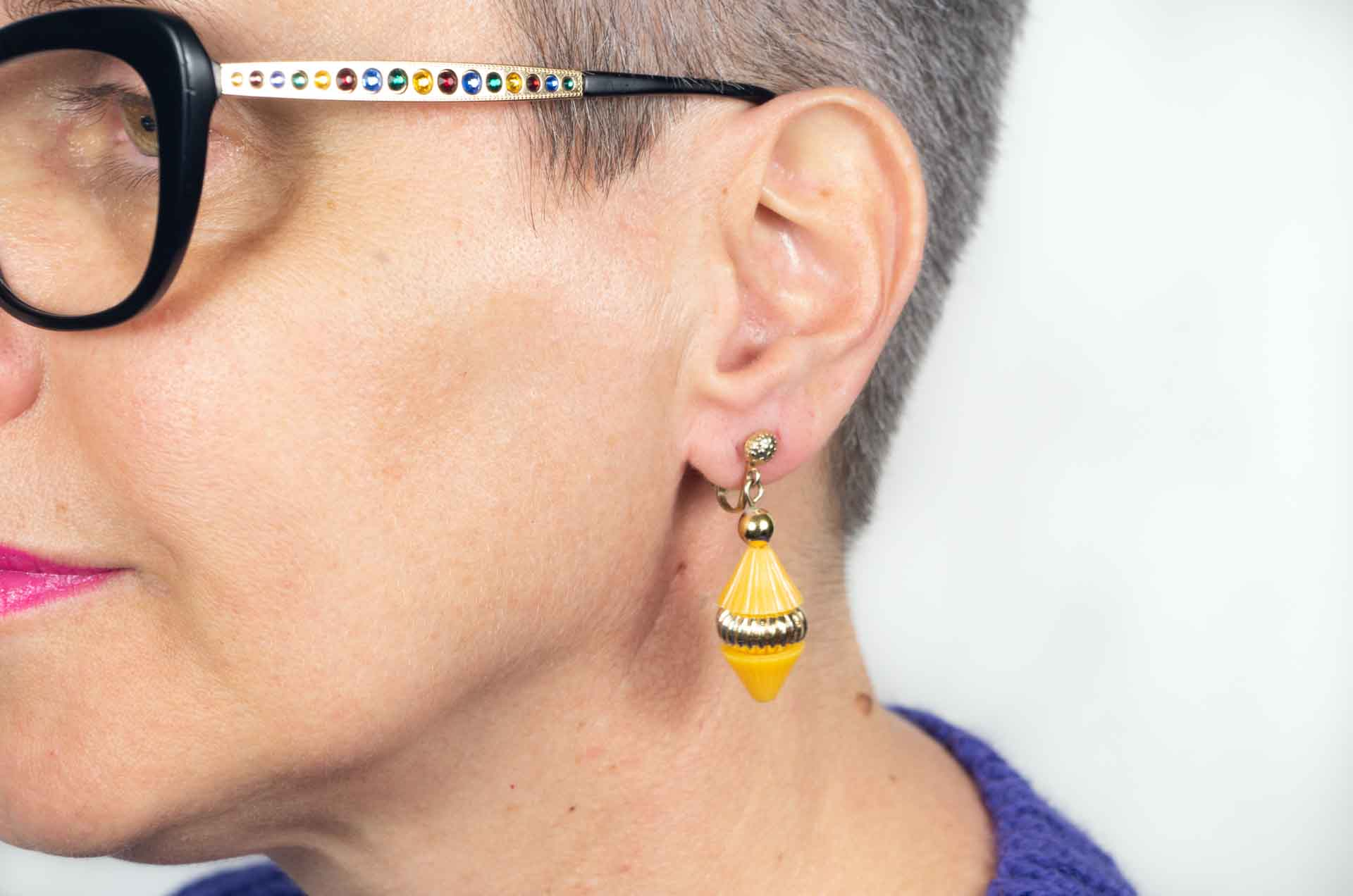 orecchini hong kong gialli 12
