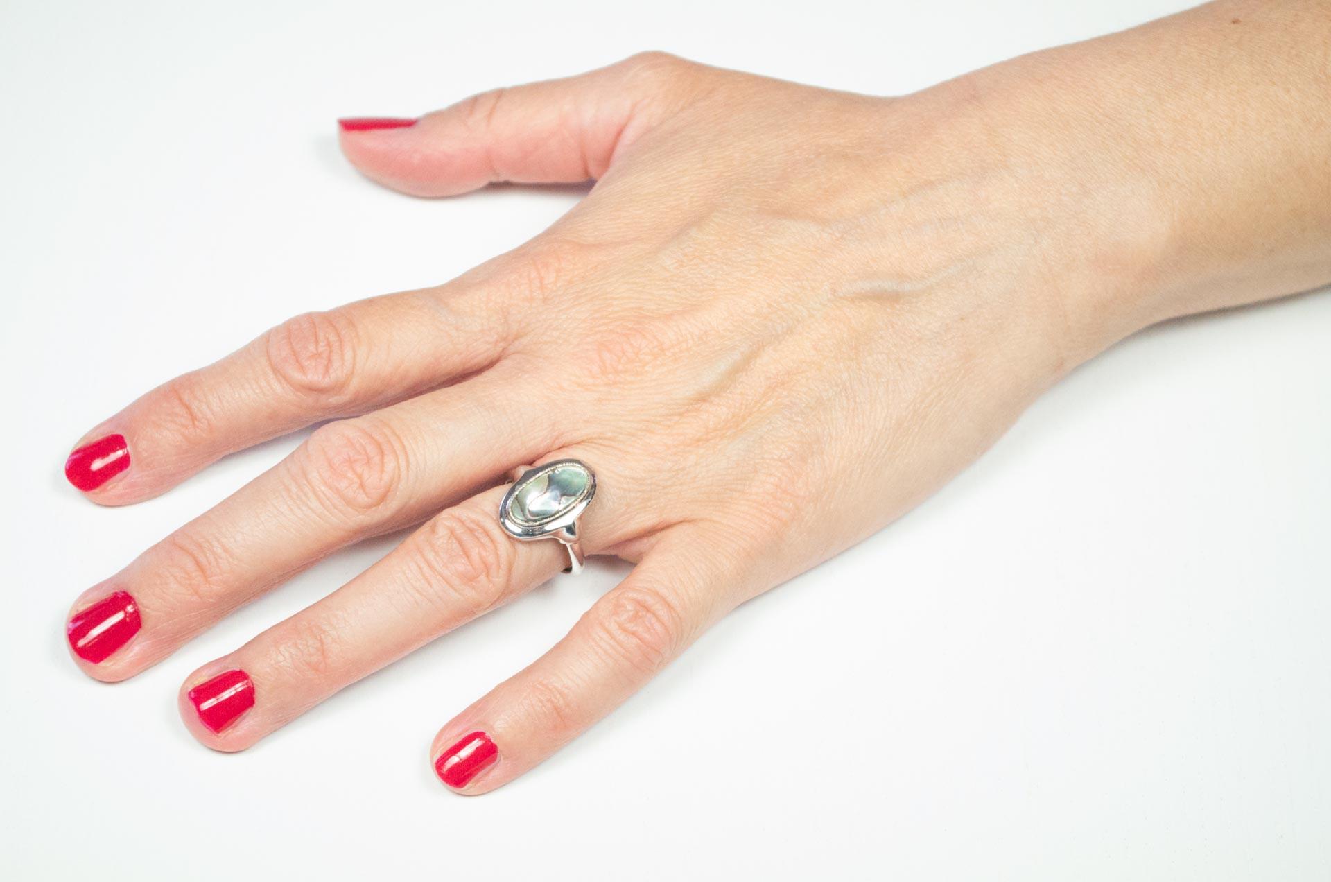 anello avon madreperla 1