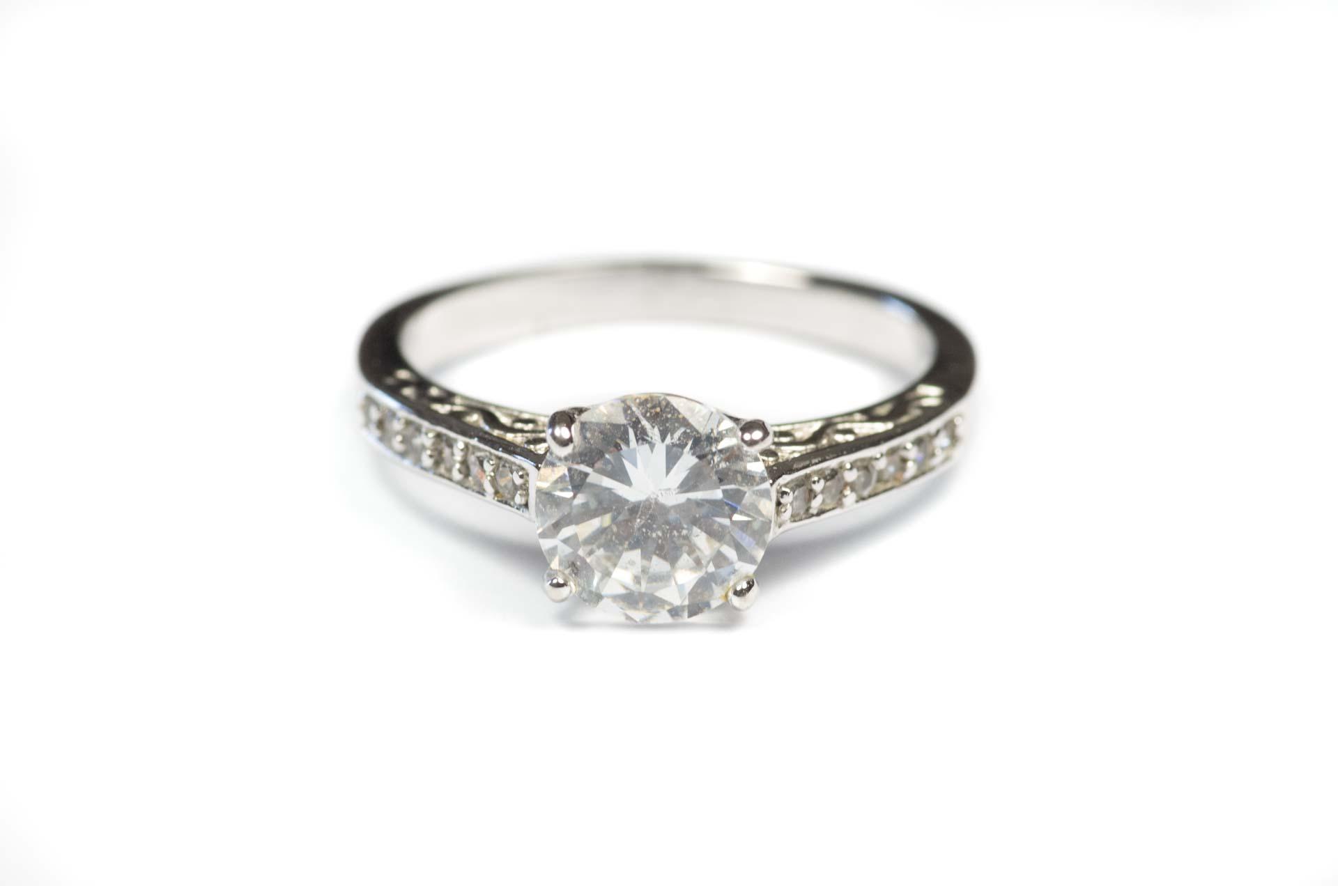 anello solitario 1